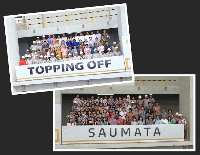 Ceremony of Saumata Topping Off  2015