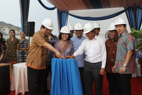 SAUMATA condominium ground breaking 2014