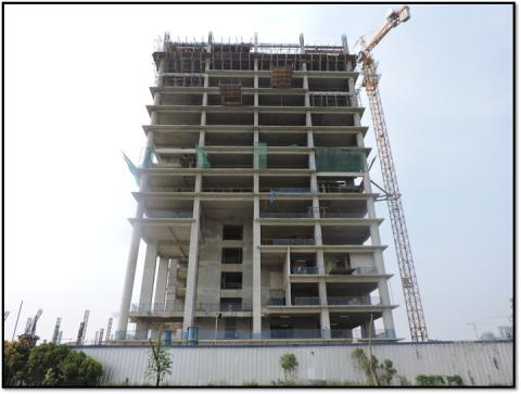 progress pembangunan saumata alam sutera serpong tangerang pada bulan mei 2015